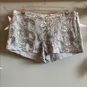 Abercrombie & Fitch Sequin Shorts